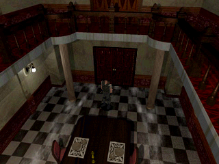 Resident Evil PlayStation The dining room