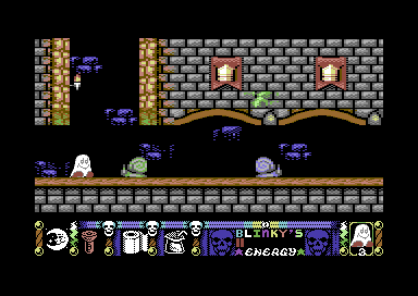 Blinkys Scary School Commodore 64 Snails