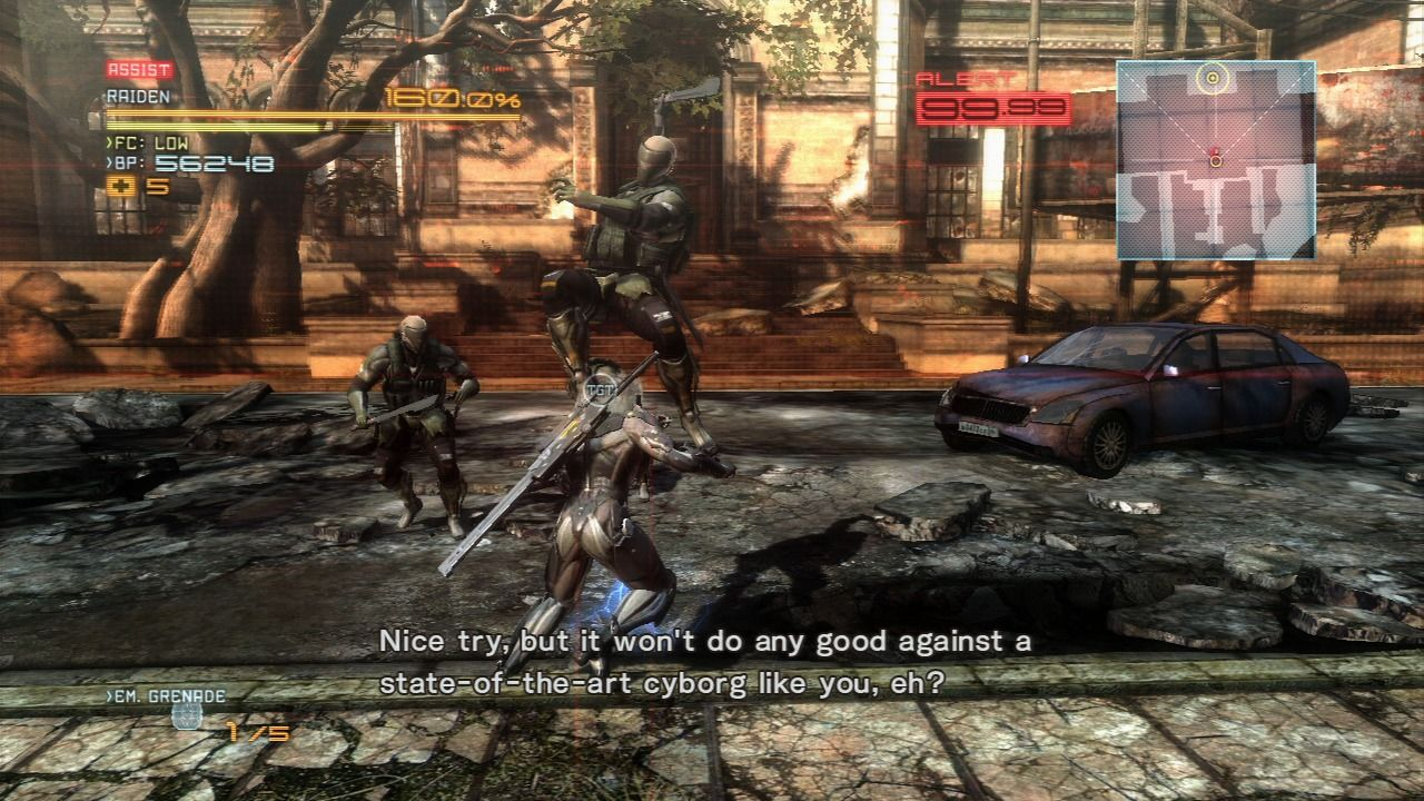 Metal Gear Rising  Revengeance PlayStation 3 Welcoming committee Metal Gear Rising Revengeance Cover Ps3