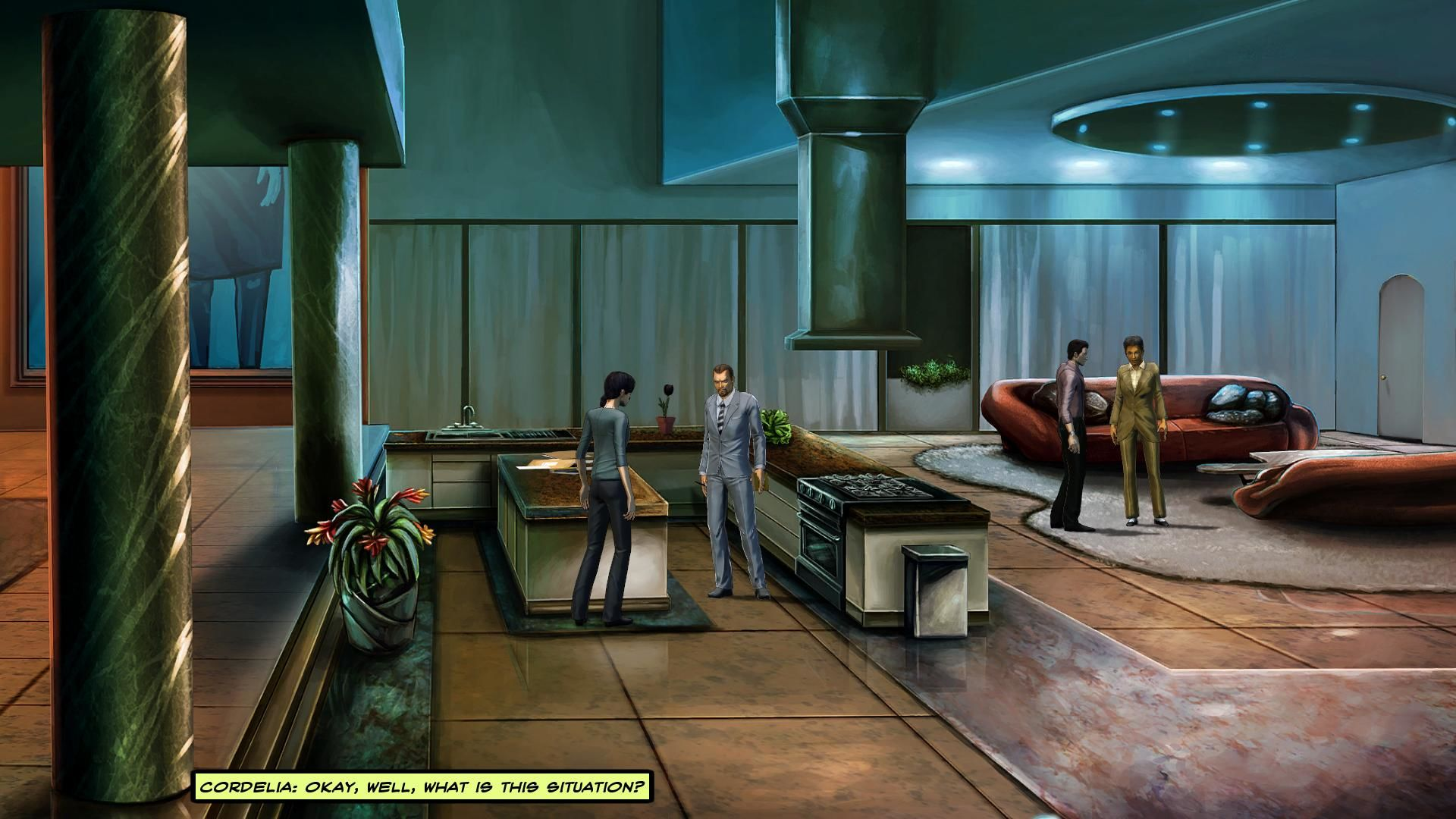 Cognition: An Erica Reed Thriller - Episode 3: The Oracle Windows The player controlling Cordelia.