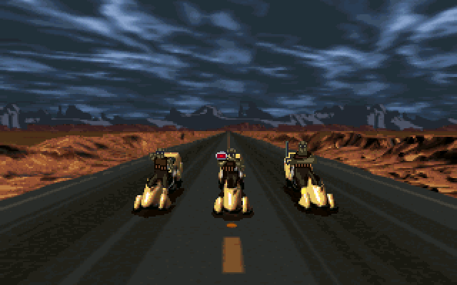 Full Throttle DOS Cavefish chase