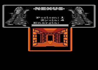 Nexus Atari 8-bit Heart and four ways corridor