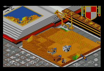 Populous TurboGrafx-16 Sands. Sands everywhere!