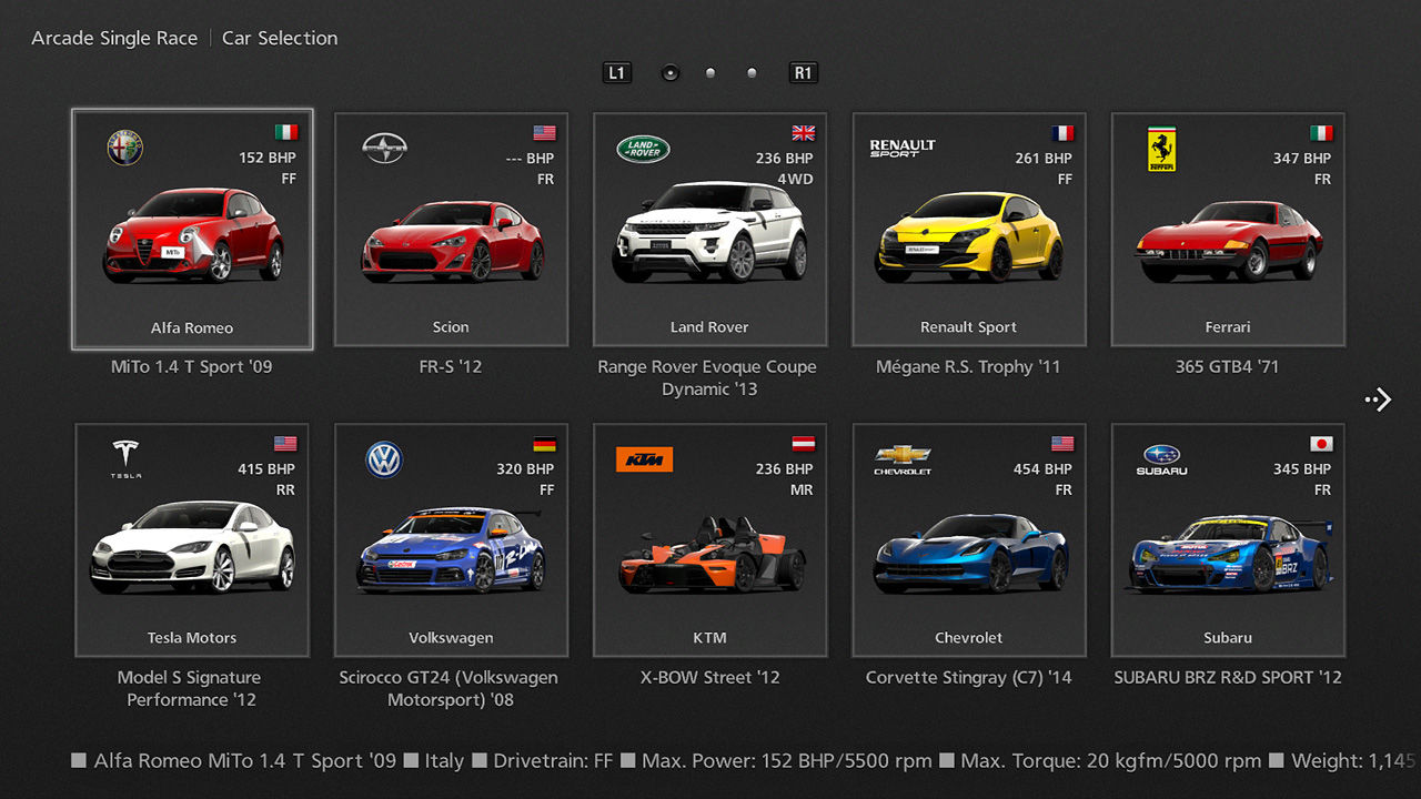 gran turismo 6 screenshots for playstation 3 mobygames. Black Bedroom Furniture Sets. Home Design Ideas