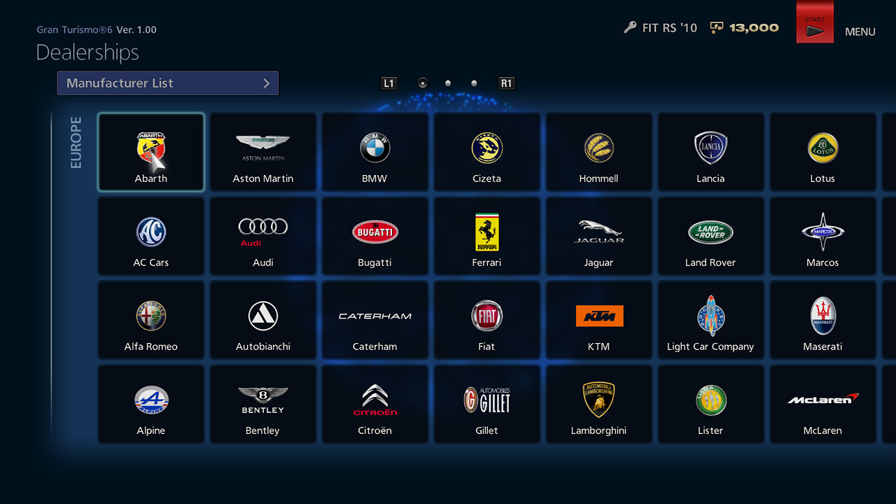 Gran Turismo 6 Screenshots For Playstation 3 Mobygames