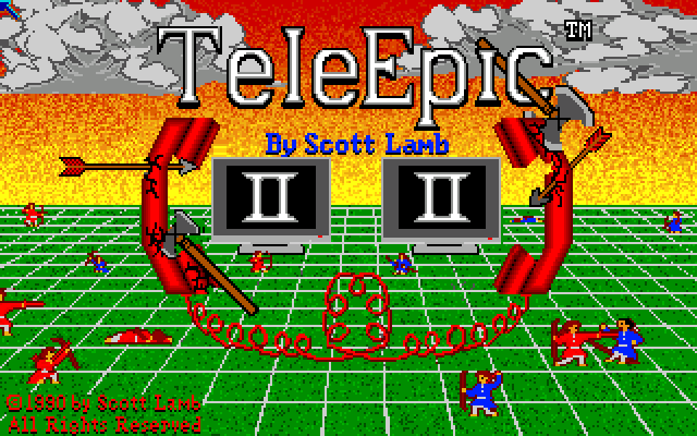 TeleEpic II Amiga Title screen