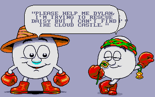 Fantasy World Dizzy DOS A conversation with Dylan