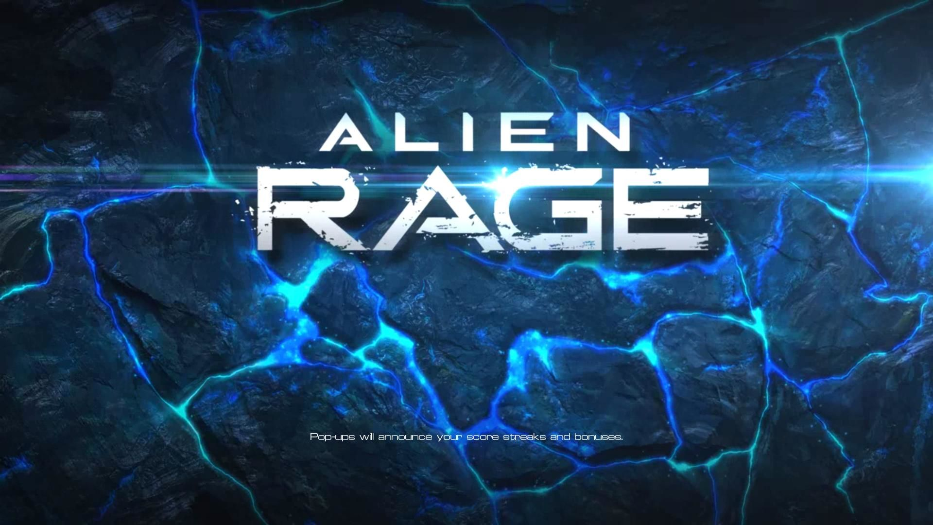 Alien Rage Unlimited Windows Loading screen (demo version)