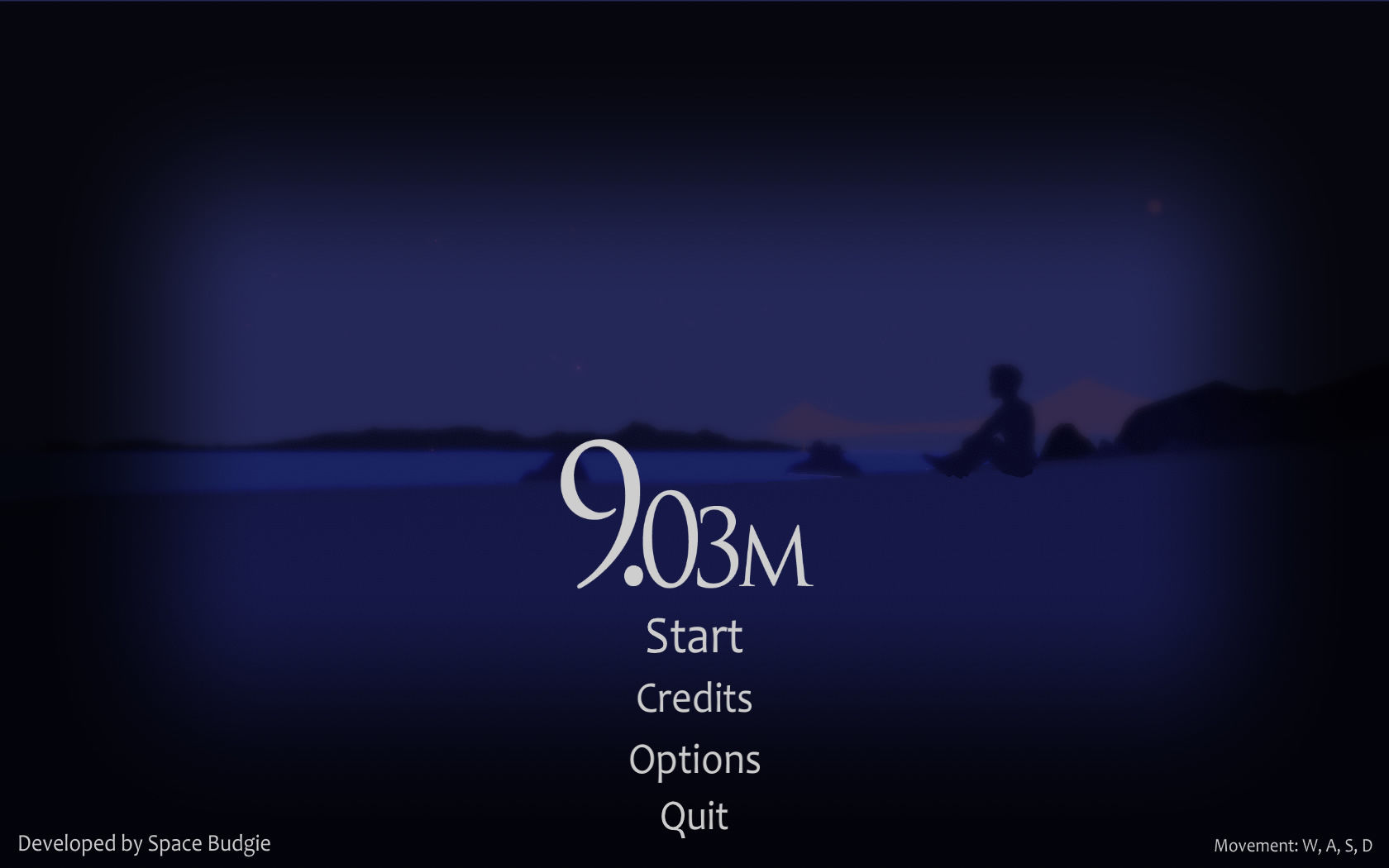 9.03m Windows Main menu