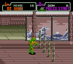 Teenage Mutant Ninja Turtles: The HyperStone Heist Genesis Deadly obstacles