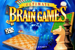 Ultimate Brain Games Game Boy Advance Time to challenge your brain!