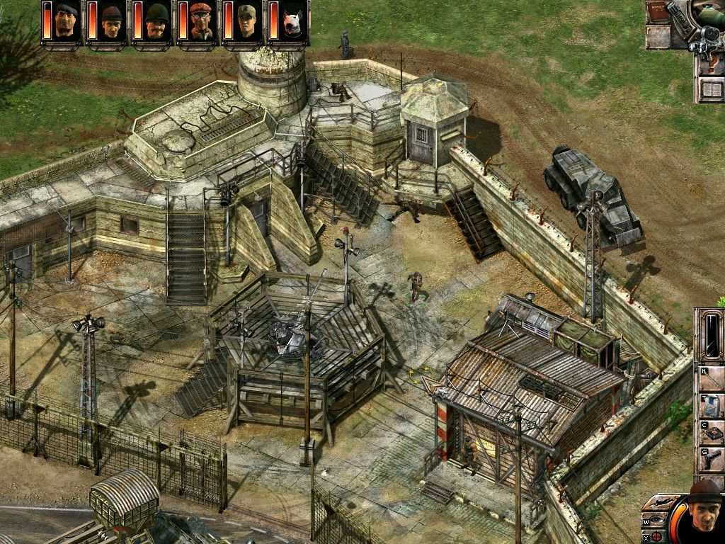 Commandos 2 men of courage full game free pc download play
