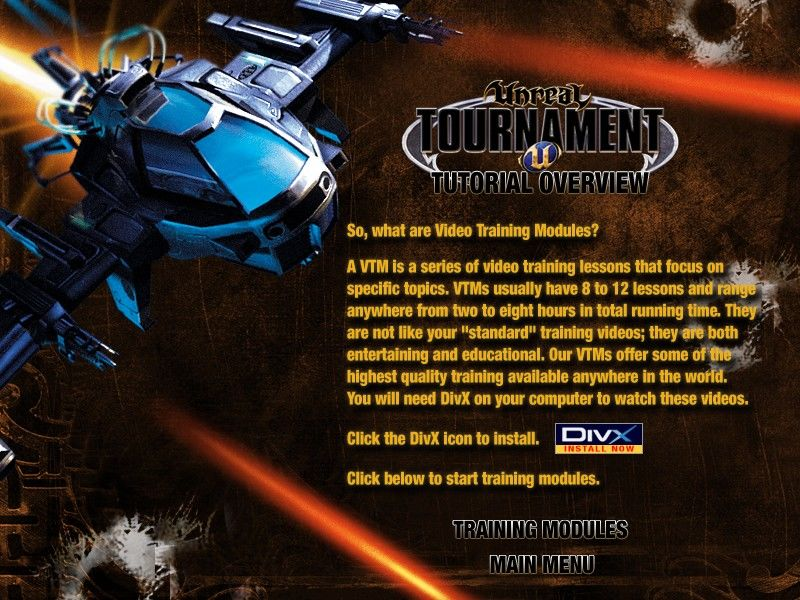 Unreal Tournament 2004 (DVD Special Edition) Windows Hours and hours of video training modules are the big added feature of the DVD edition.