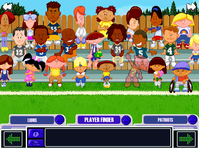 Backyard Football Video Game backyard football 2002 screenshots for windows - mobygames