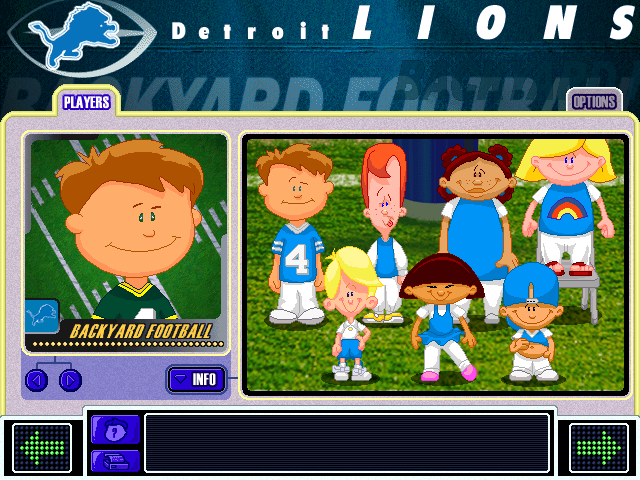 Backyard Football 2002 Windows My team of champions. Nobody can top them!