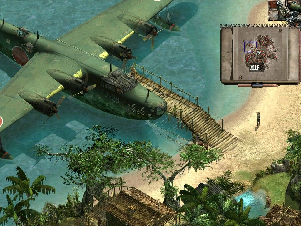 Commandos 2: Men of Courage Windows The island that holds the key to