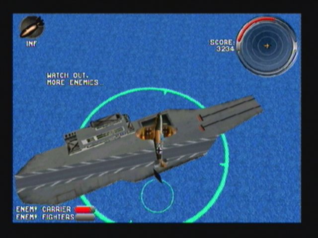 Armageddon Squadron Zeebo Targets will vary. Here I'm attacking an enemy aircraft carrier.