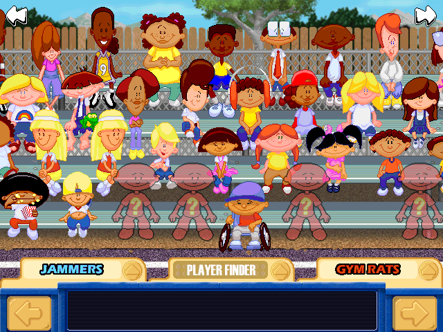 Exceptionnel Backyard Basketball Windows Picking Your Players