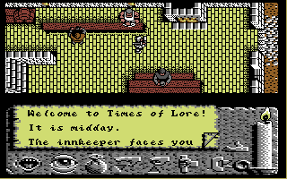 Times of Lore Commodore 64 The inn