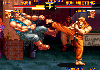 Art of Fighting Arcade Ryo give good answer