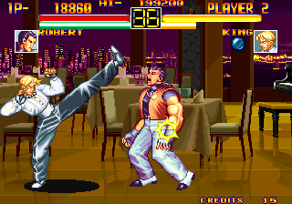Art of Fighting Arcade Flawless victory