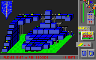 Laser Force Apple IIgs Level 2