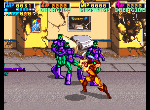 X-Men Arcade Group of Sentis to kill