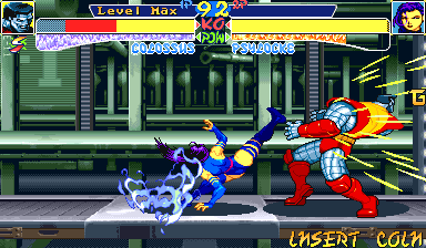 X-Men: Children of the Atom Arcade High hells kick