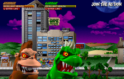 Rampage World Tour Arcade Smiling towards the camera