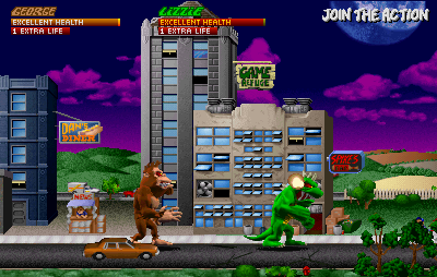 Rampage World Tour Arcade Action