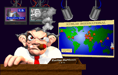 Rampage World Tour Arcade Scumlabs evil owner