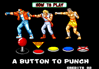 Fatal Fury Arcade Tutorial