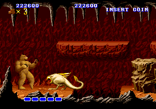 Altered Beast Arcade Stage 3: Cavern of Souls