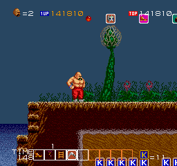 Karnov Arcade Stage 4: Underwater Region (out of the water)