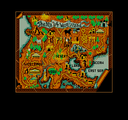 Karnov Arcade Found the map that leads to treasure