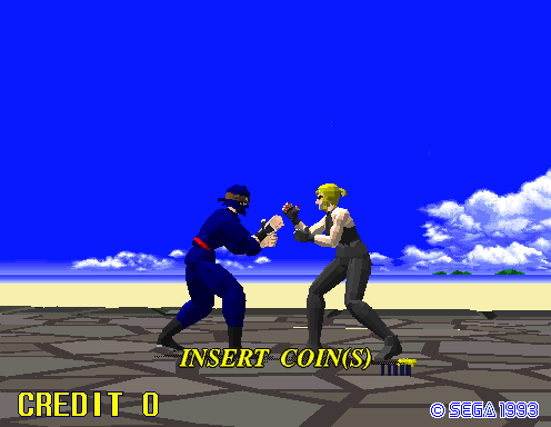 Virtua Fighter Screenshots for Arcade - MobyGames