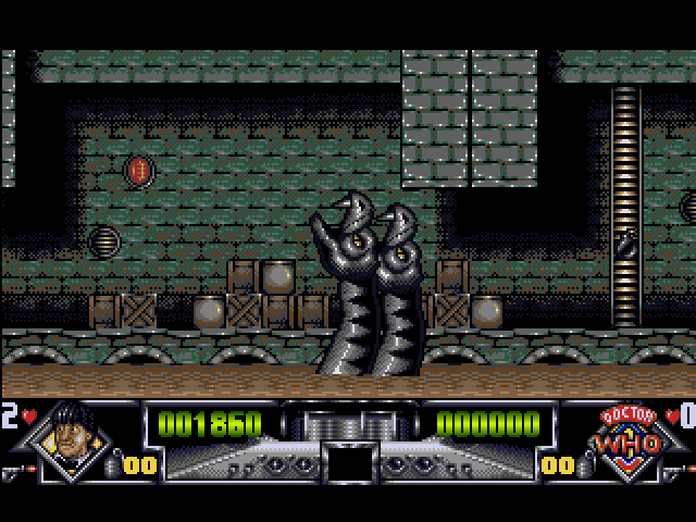 Dalek Attack Amiga Level 1 boss