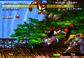 Samurai Shodown III: Blades of Blood Arcade Strong slash