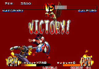 Samurai Shodown III: Blades of Blood Arcade I lost