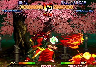 Samurai Shodown III: Blades of Blood Arcade Fireball