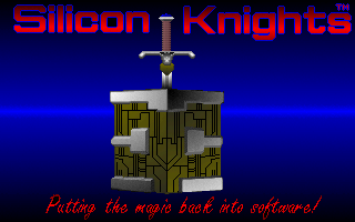 Fantasy Empires DOS Silicon Knights logo
