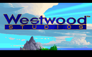 The Legend of Kyrandia DOS Westwood Studios company logo