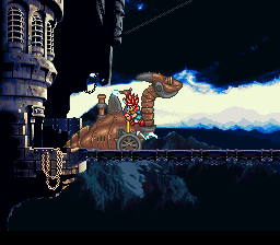 Chrono Trigger SNES Intro trailer - what's this big thing?