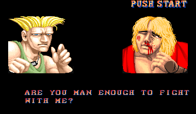 Street Fighter II Arcade Poor Ken