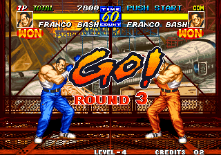 Fatal Fury 3: Road to the Final Victory Arcade Round 3