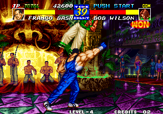 Fatal Fury 3: Road to the Final Victory Arcade Power fist