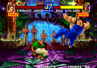 Fatal Fury 3: Road to the Final Victory Arcade Final kick