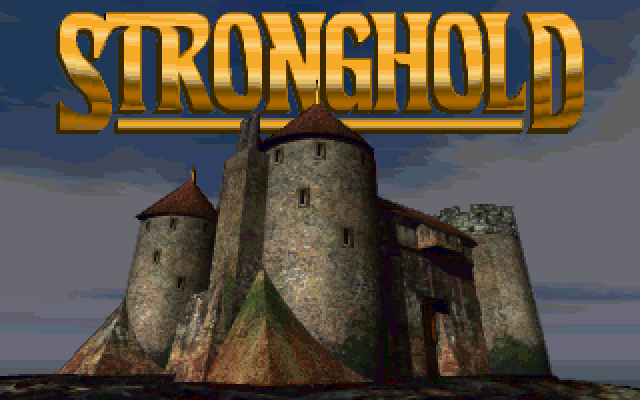 Stronghold FM Towns Title screen