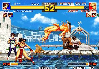The King of Fighters '95 Arcade Fight starts