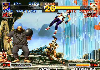 The King of Fighters '95 Arcade Strong kick